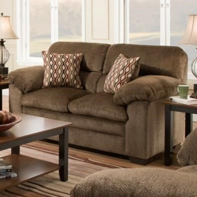 3683 Loveseat by United Furniture Industries at Dream Home Interiors