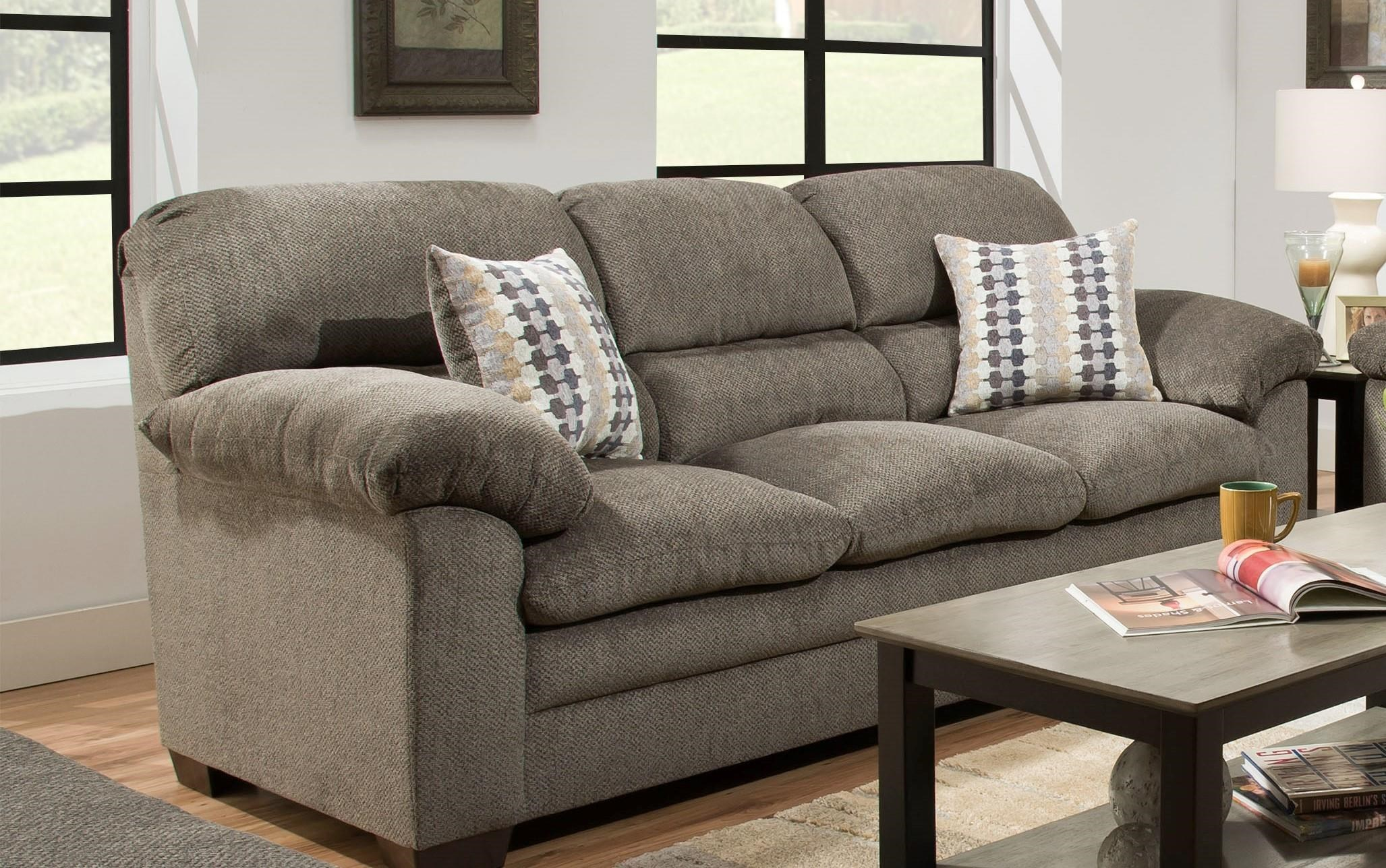 United Furniture Industries 3683 Sofa Furniture Fair
