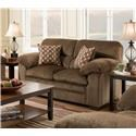 United Furniture Industries 3683 Loveseat - Item Number: 3683 chest-love
