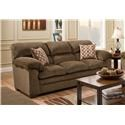 United Furniture Industries 3683 3 Seat Sofa - Item Number: 3683 Chestnut