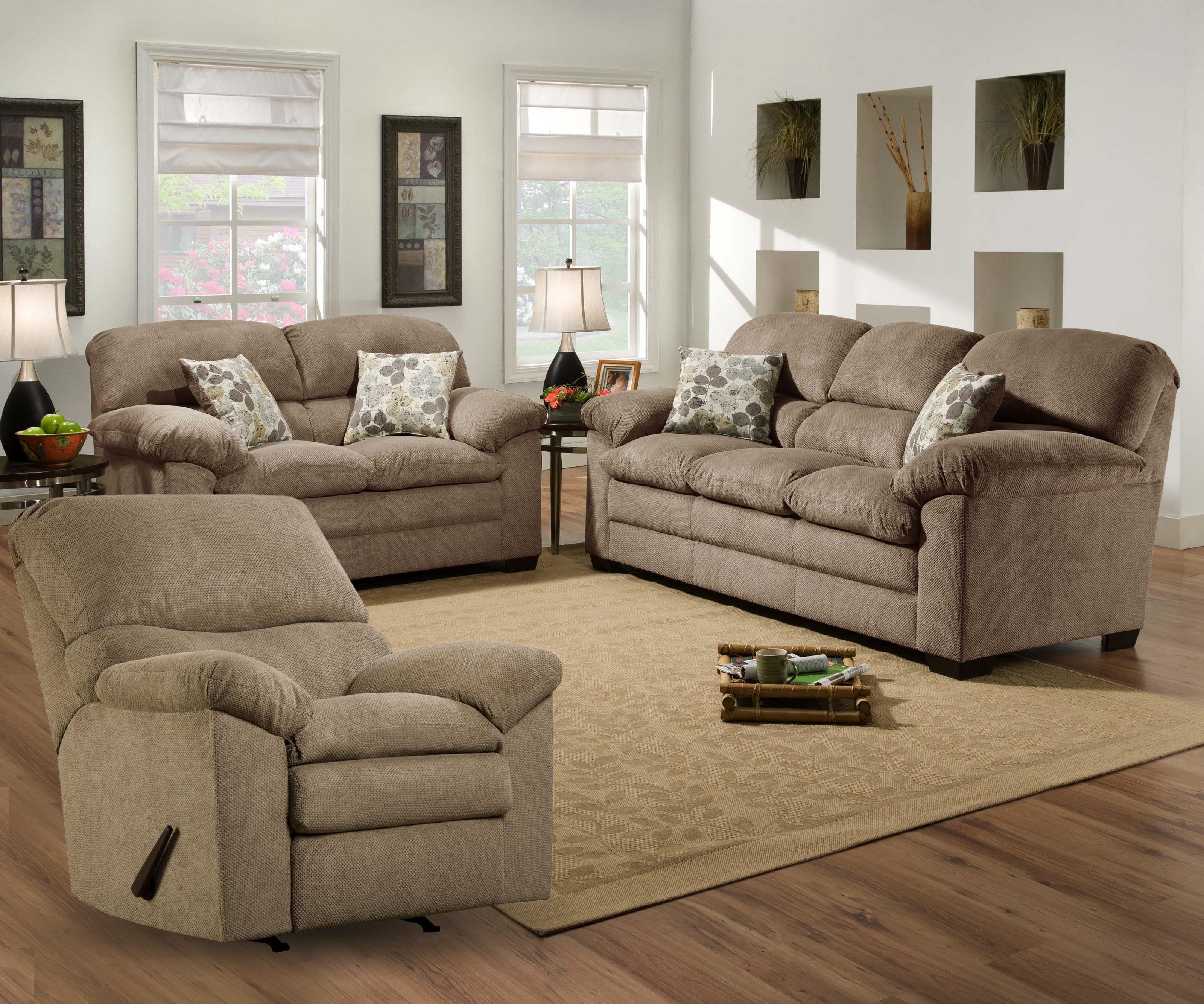 sofa and reclining loveseat brown leather myleene couch collection set sofas