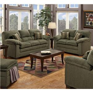United Furniture Industries 3684 Living Room Group