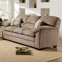 Blue Hill 3684 Sofa - Item Number: 3684-03-Puff Musk