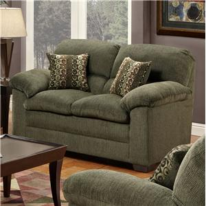 United Furniture Industries 3684 Stationary Loveseat