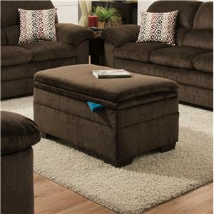 United Furniture Industries 3684 Storage Ottoman
