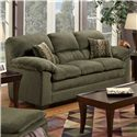 United Furniture Industries 3684 Stationary Sofa - Item Number: 3684-SFGr