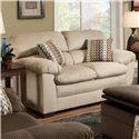 United Furniture Industries 3685 Loveseat - Item Number: 3685 Loveseat Doe