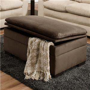 United Furniture Industries 3685 Storage Ottoman