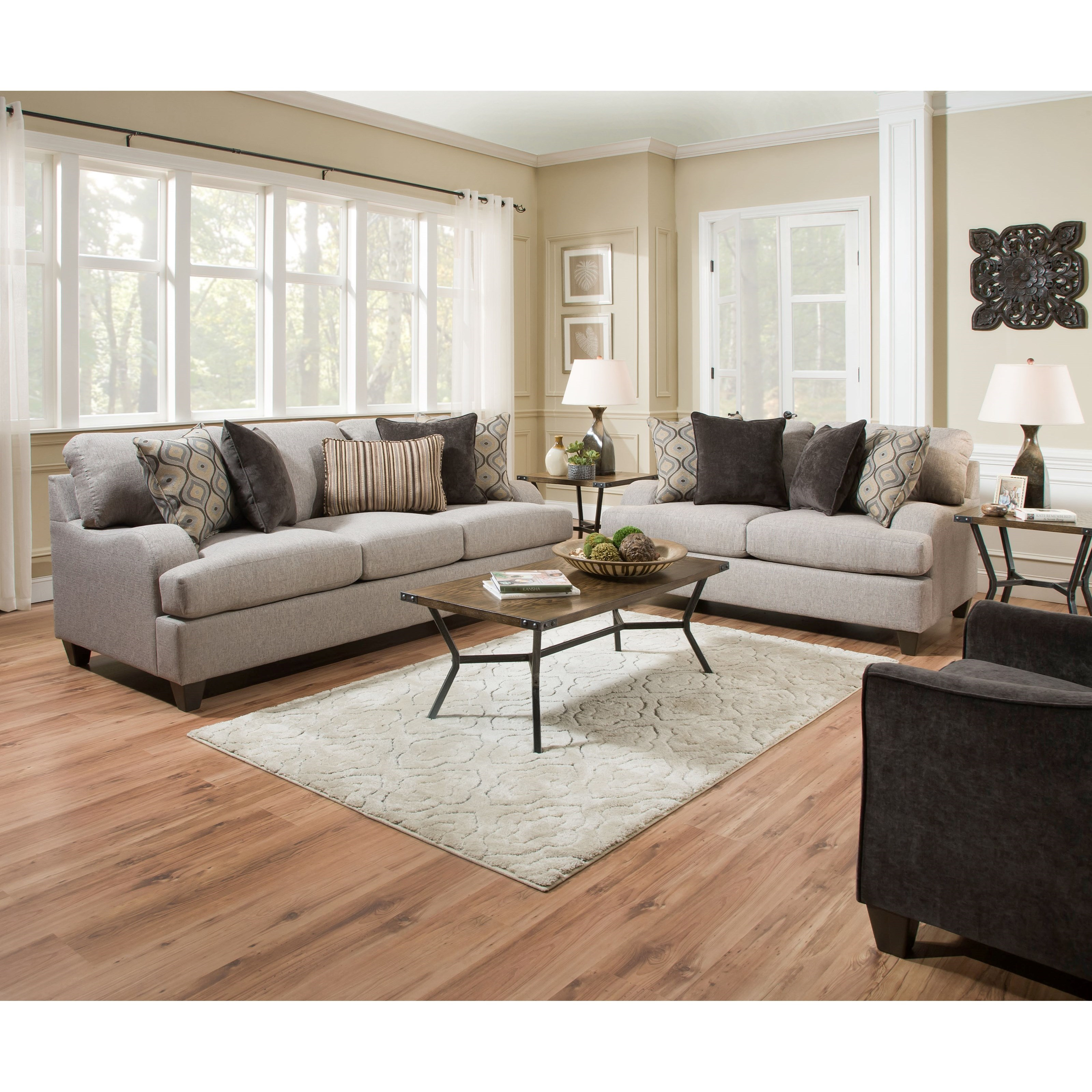 United Furniture Industries 4002 Living Room Group - Item Number: 4002 Living Room Group