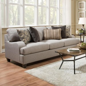 United Furniture Industries 4002 Transitional Sofa