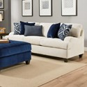 United Furniture Industries 4002 Transitional Sofa - Item Number: 4002SOFA-SophiaStone