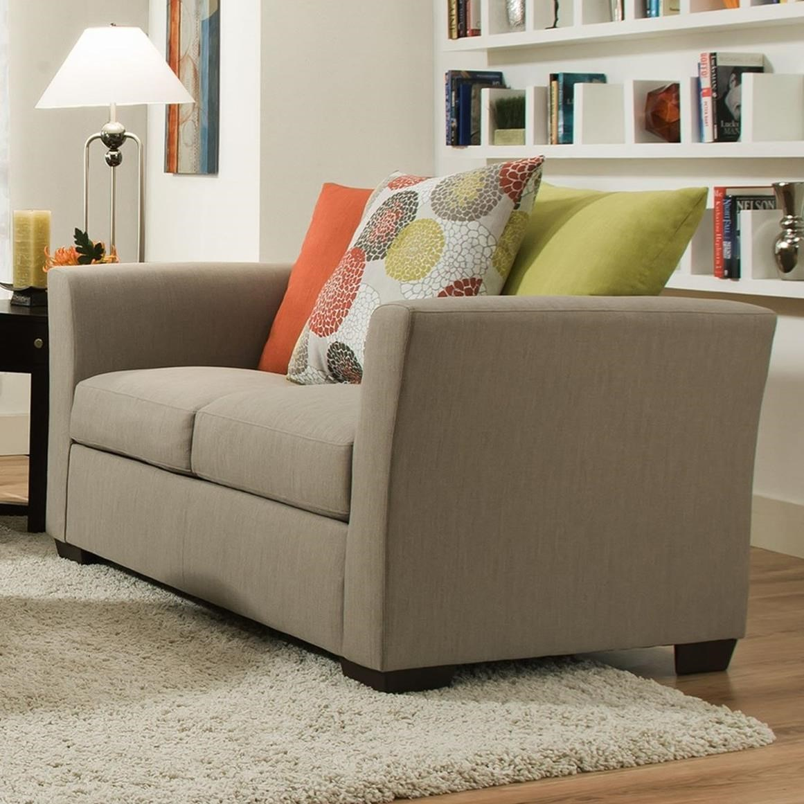 United Furniture Industries 4201 Loveseat - Item Number: 4201Loveseat-FrenchGray