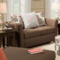 United Furniture Industries 4201 Loveseat - Item Number: 4201Loveseat-TikiBrown