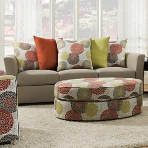 United Furniture Industries 4201 Sofa