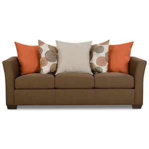 Simmons Upholstery 4201 4201sofa Frenchgray Transitional