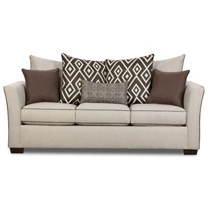 United Furniture Industries 4202 Transitional Sleeper Sofa