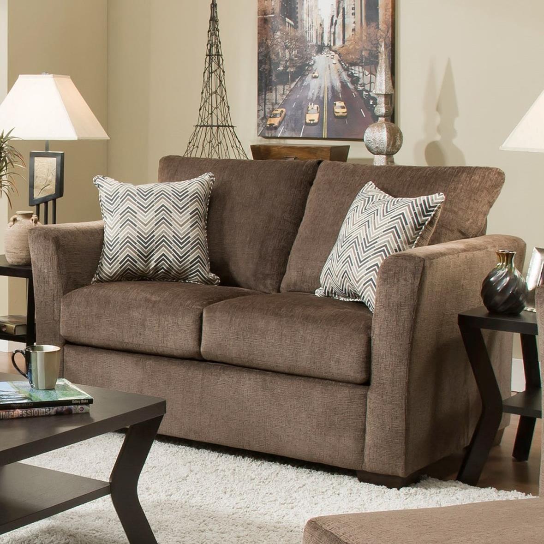 4206 Love Seat by United Furniture Industries at Bullard Furniture