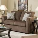 Lane 4206 Love Seat - Item Number: 4206-02-Elan Coffee