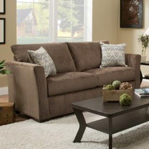 United Furniture Industries 4206 Transitional Full Sleeper Sofa