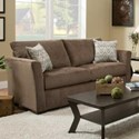 United Furniture Industries 4206 Transitional Full Sleeper Sofa - Item Number: 4206-FSleeperSofa-ElanCoffee