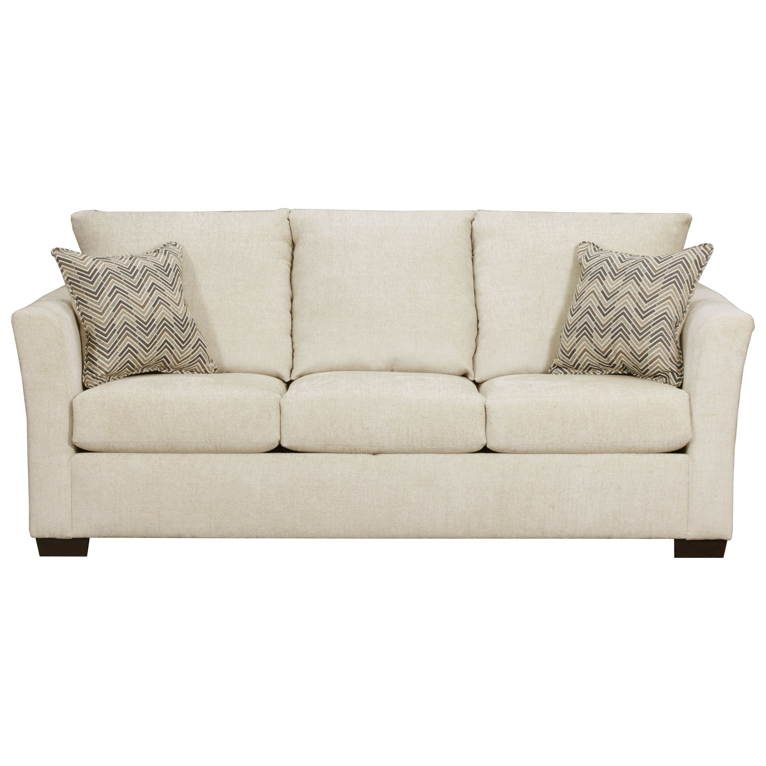4206 Transitional Queen Sleeper Sofa by United Furniture Industries at Dream Home Interiors