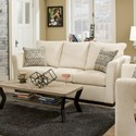 United Furniture Industries 4206 Transitional Queen Sleeper Sofa - Item Number: 4206-QSleeperSofa-ElanLinen