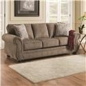 Simmons Upholstery 4253 Sofa - Item Number: 4253S