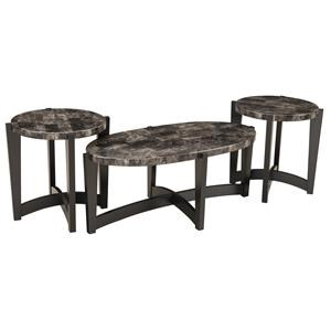 Simmons Upholstery 4253 Occasional Table Set