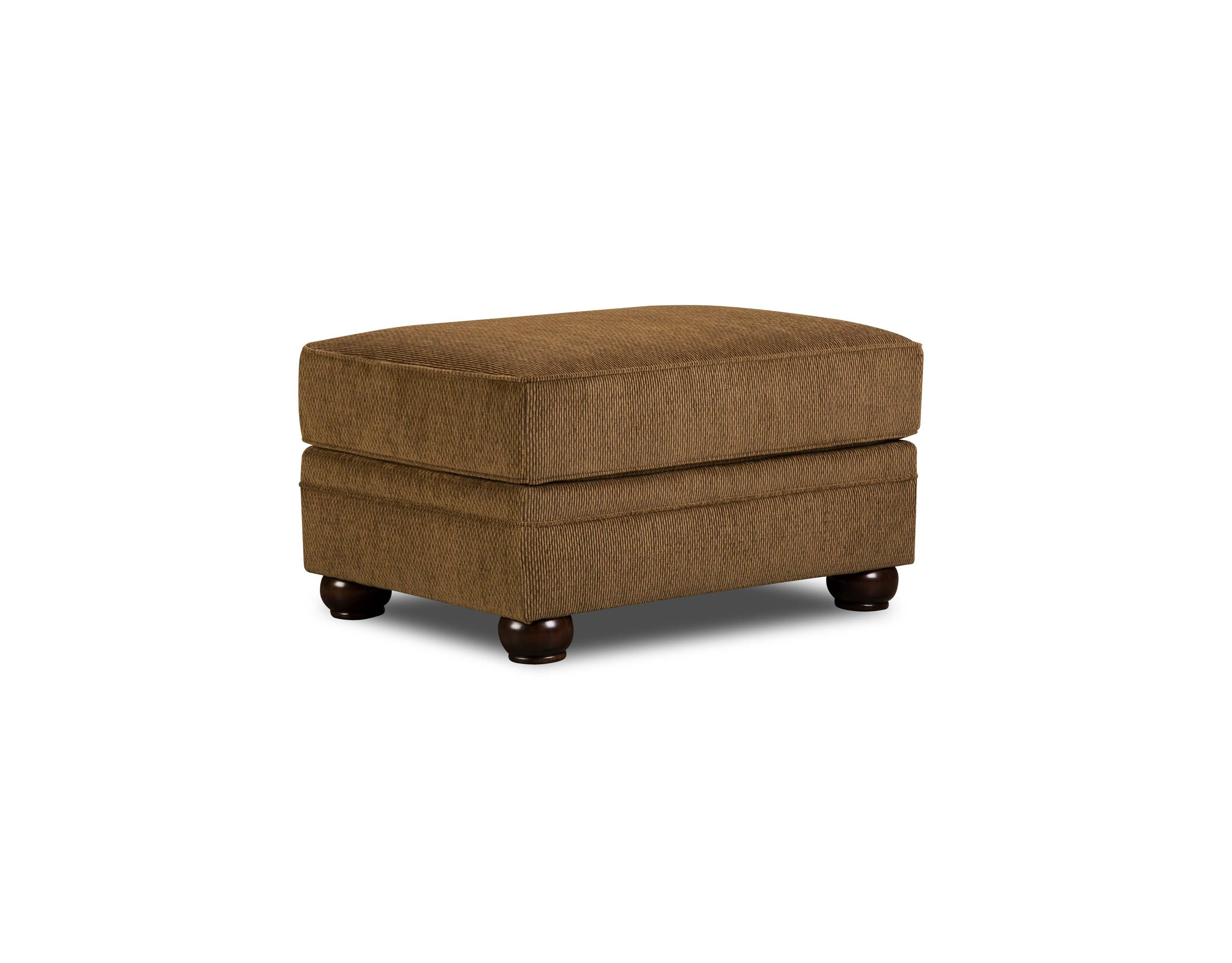 Simmons Upholstery 4276 Traditional Ottoman - Item Number: 4276OTTO