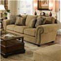 United Furniture Industries 4277 Sofa - Item Number: 4277-Sofa-OutbackAntique