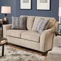 United Furniture Industries 4330 Love Seat - Item Number: 4330LOVESEAT-Alamo Taupe