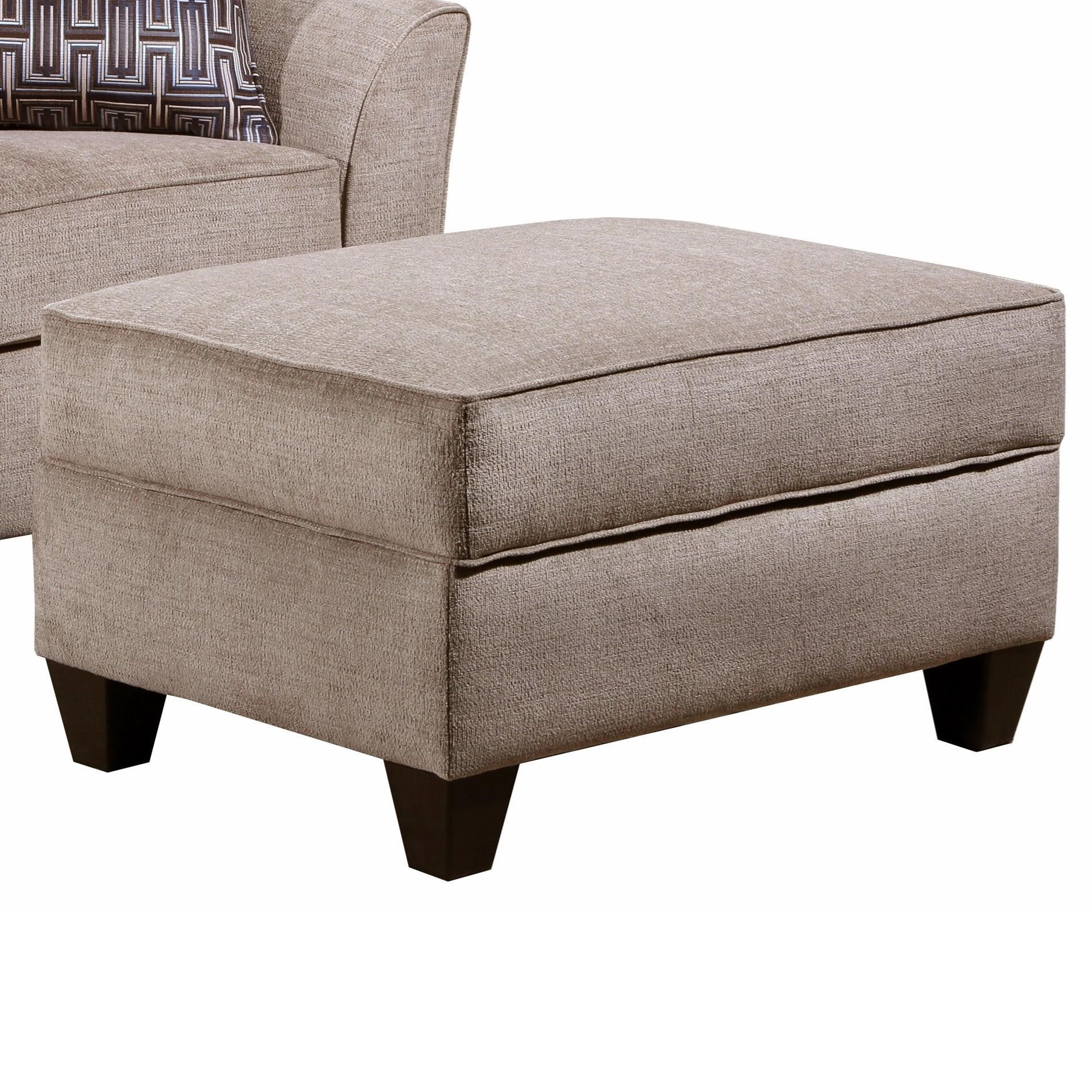4330 Storage Ottoman by United Furniture Industries at Dream Home Interiors