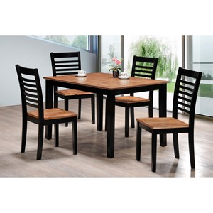 Simmons Upholstery Key West 5 Piece Table and Chair Set