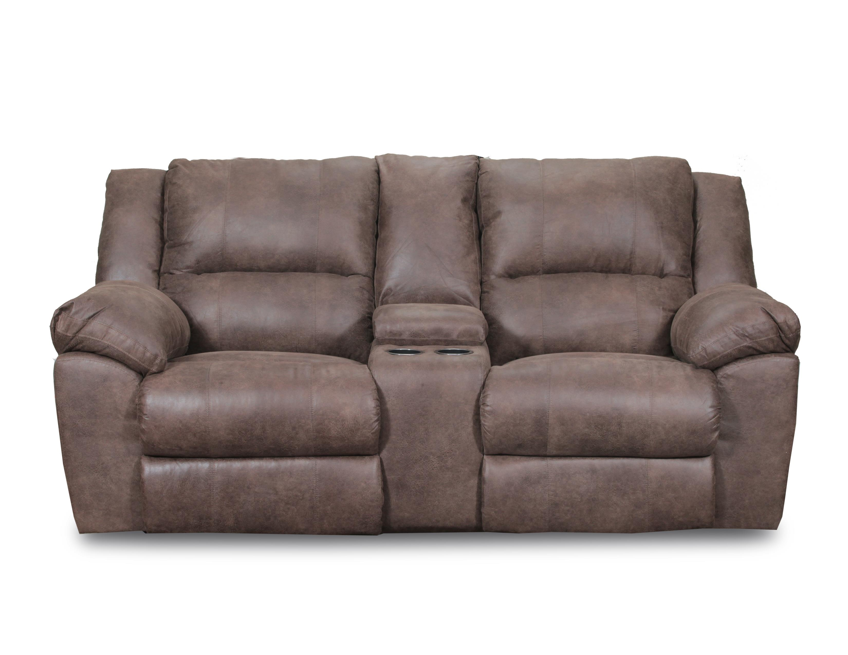Simmons Upholstery 50111 Casual Double Motion Loveseat