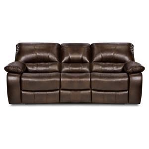 Simmons Upholstery 50240 Casual Reclining Sofa