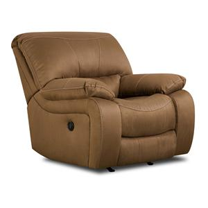 Simmons Upholstery 50240 Casual Rocker Recliner