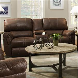 United Furniture Industries 50364 Power Double Motion Console Loveseat