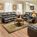 Simmons Upholstery 50433BR Reclining Living Room Group - Item Number: 50433BR Living Room Group