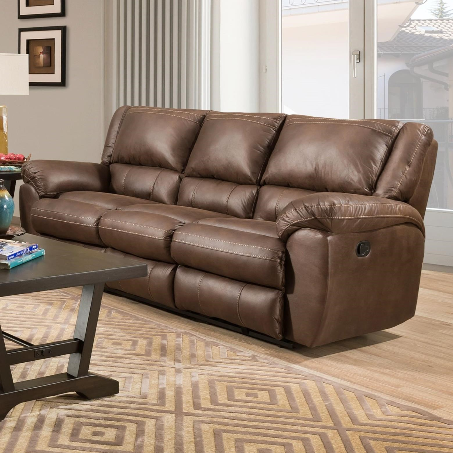 50433BR Double Motion Sofa by United Furniture Industries at Dream Home Interiors