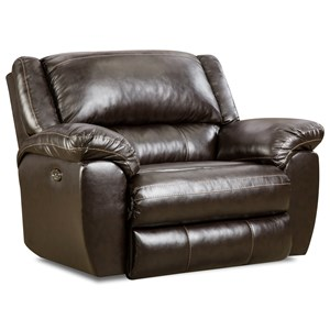 United Furniture Industries 50433BR Cuddler Recliner