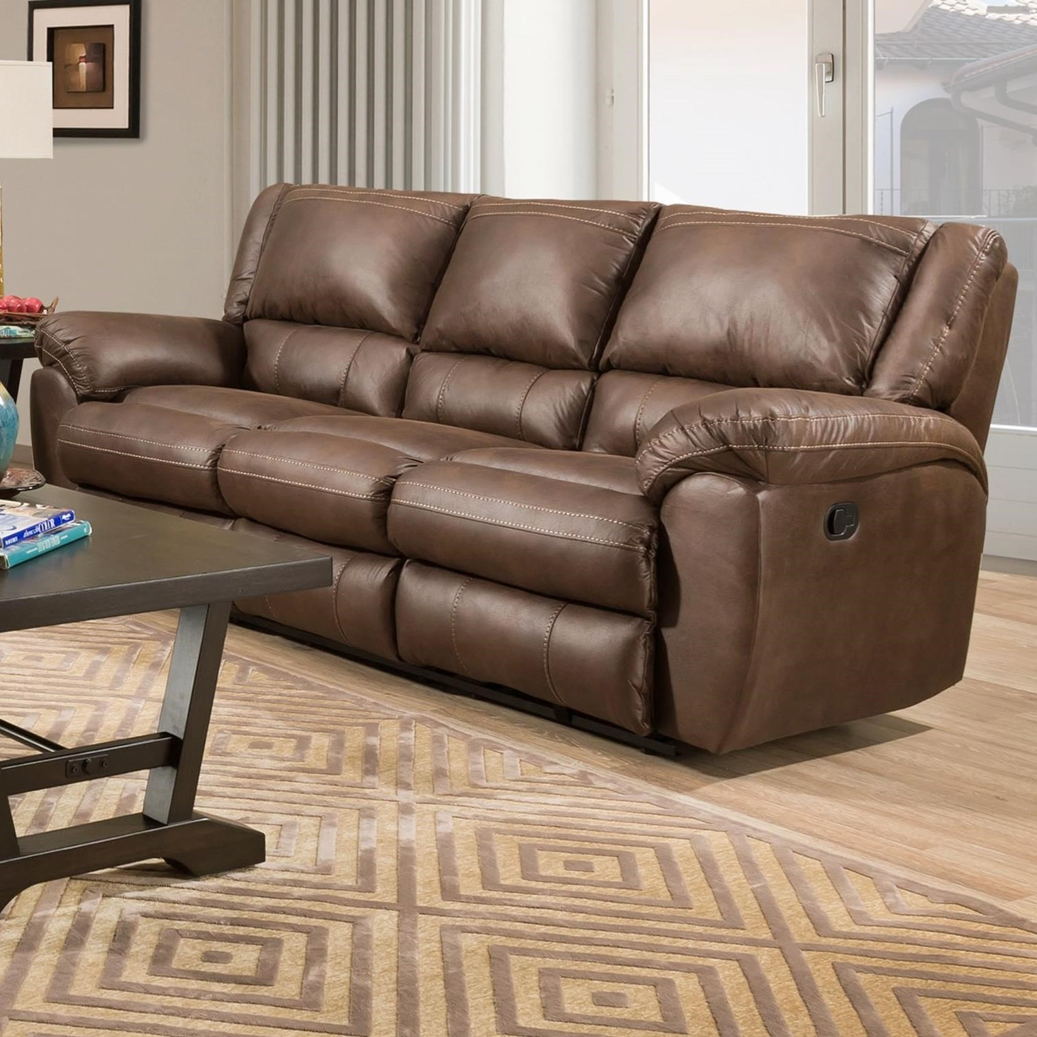 50433BR Power Double Motion Sofa by United Furniture Industries at Dream Home Interiors