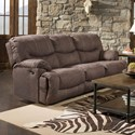 United Furniture Industries 50455BR Double Power Reclining Sofa - Item Number: 50455PBR-53