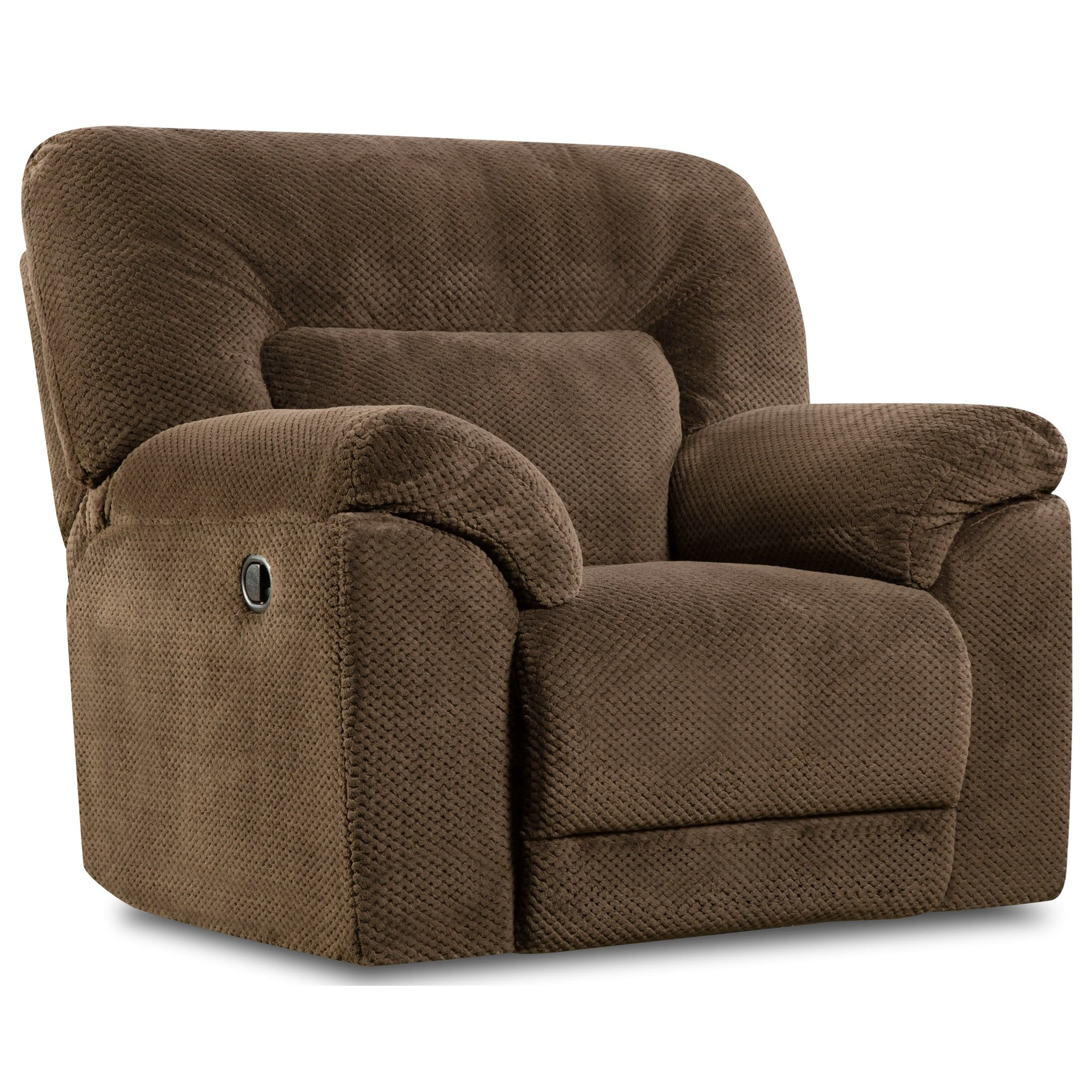 50570 Cuddler Recliner  by Simmons Upholstery at Dunk & Bright Furniture