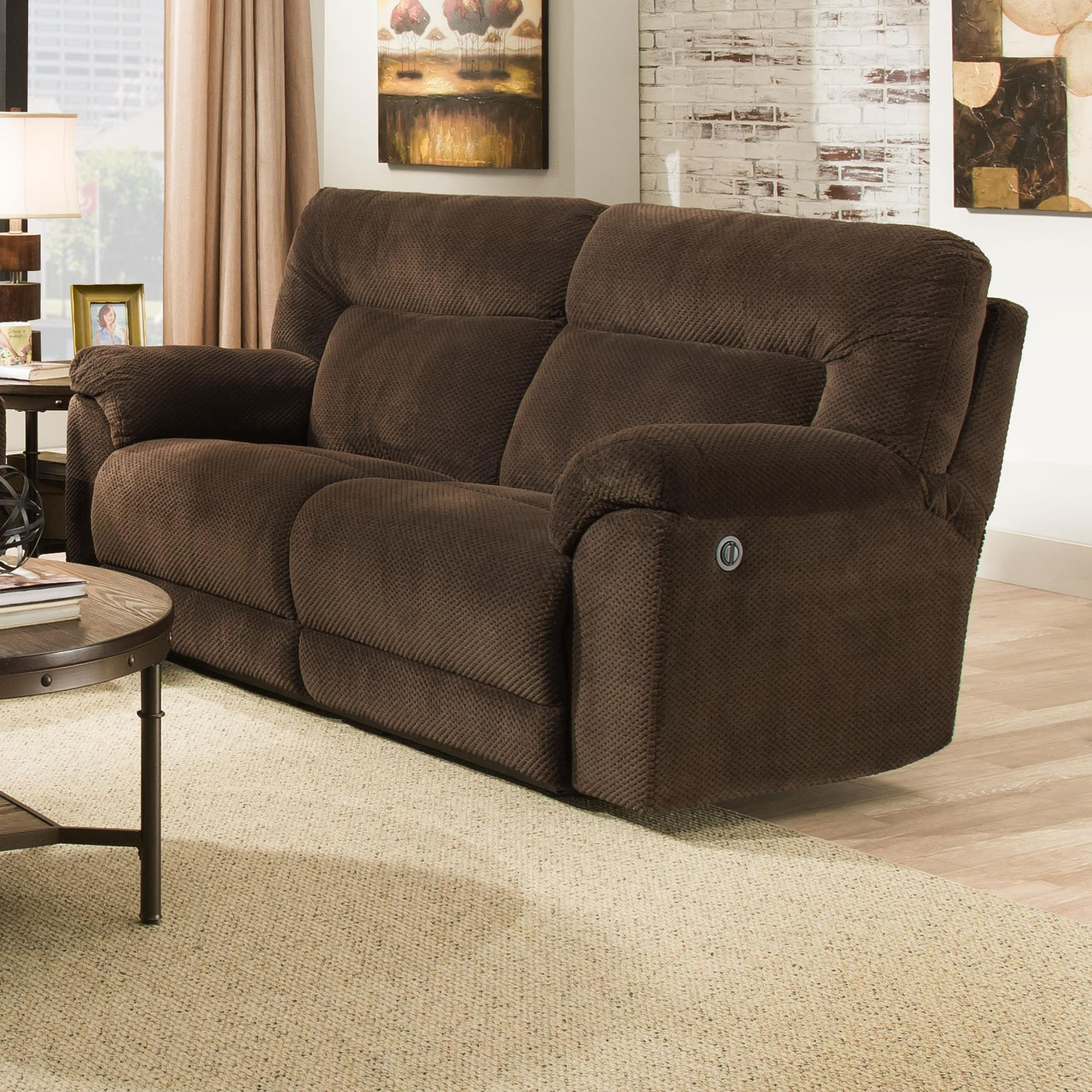 United Furniture Industries 50570 Double Motion Sofa - Item Number: 50570Sofa-MadChoc