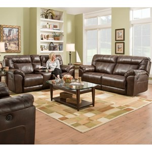 United Furniture Industries 50571BR Reclining Living Room Group