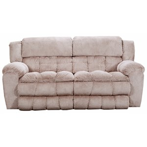 United Furniture Industries 50580BR Double Motion Sofa