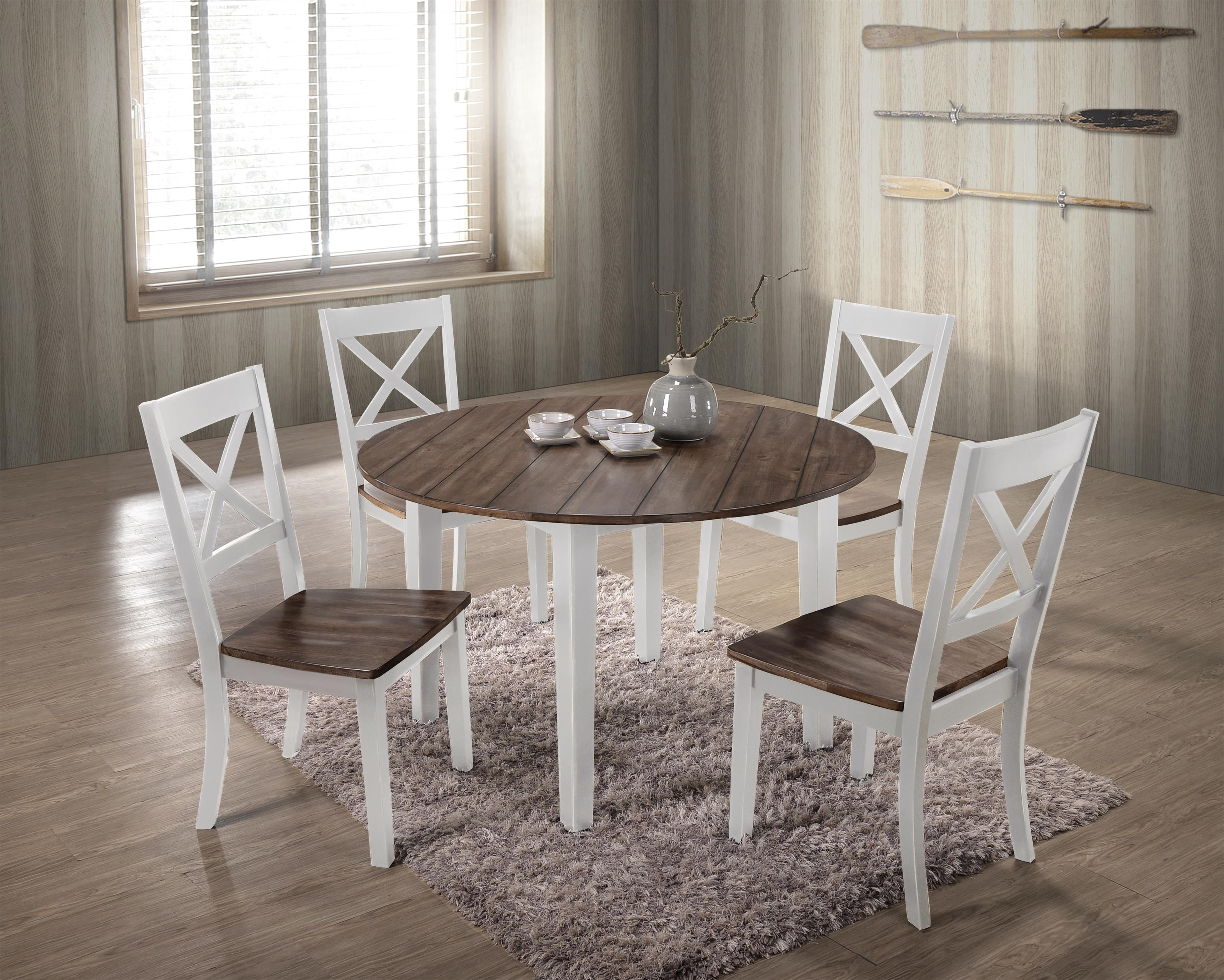5057 5 Piece Table and Chair Set by United Furniture Industries at Value City Furniture