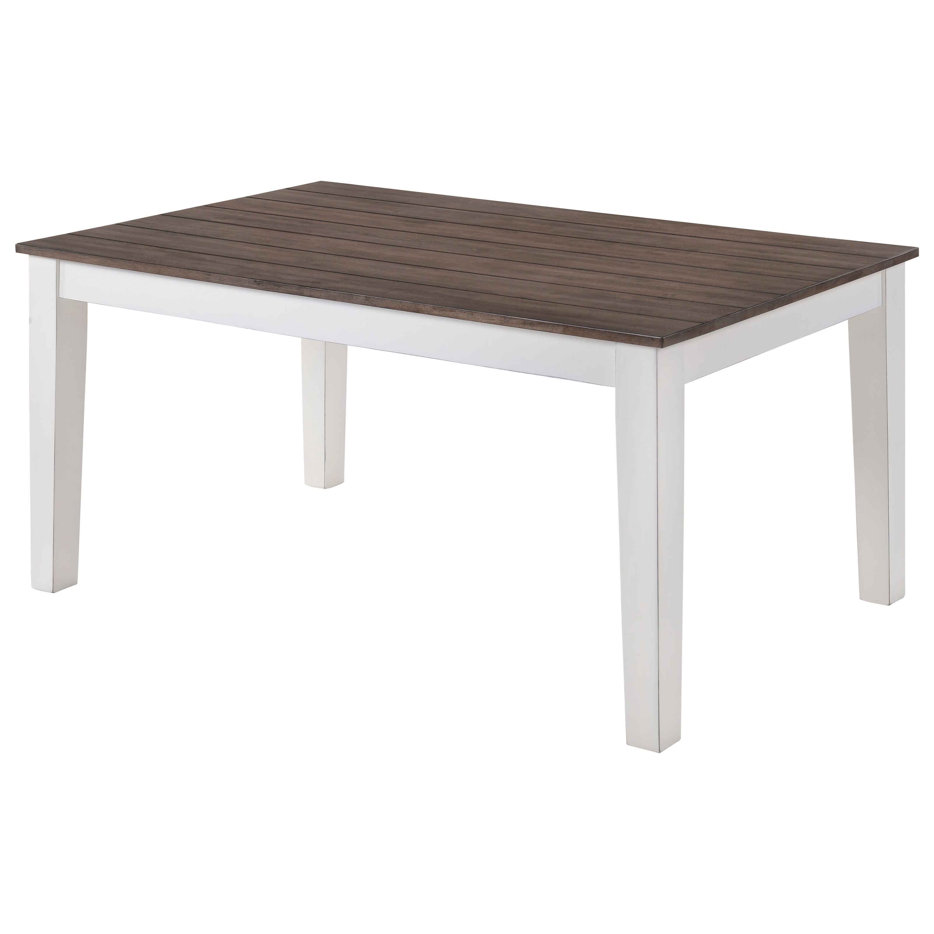 United Furniture Industries 5057 Rectangular Dining Table - Item Number: 5057-59