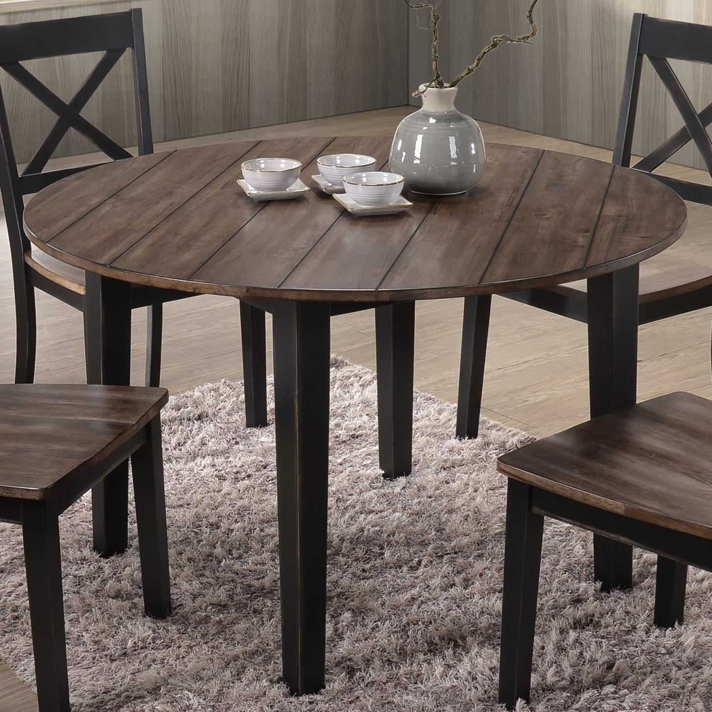 United Furniture Industries 5058 Round Dining Table - Item Number: 5058-48