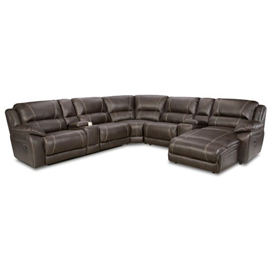 United Furniture Industries 50660 Casual Sectional Sofa